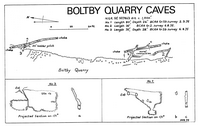 BCRA B11 Boltby Quarry Caves - Cleveland