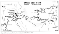 BCRA CKS33-2 White Scar Cave Outline (2006)