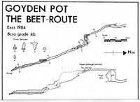 CUCC CU85 Goyden Pot - The Beet Route