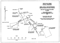 MSG J12 Devis Hole Mine Caves - Outline Plan