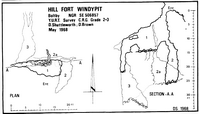 YURT R2 Hill Fort Windypit - Boltby